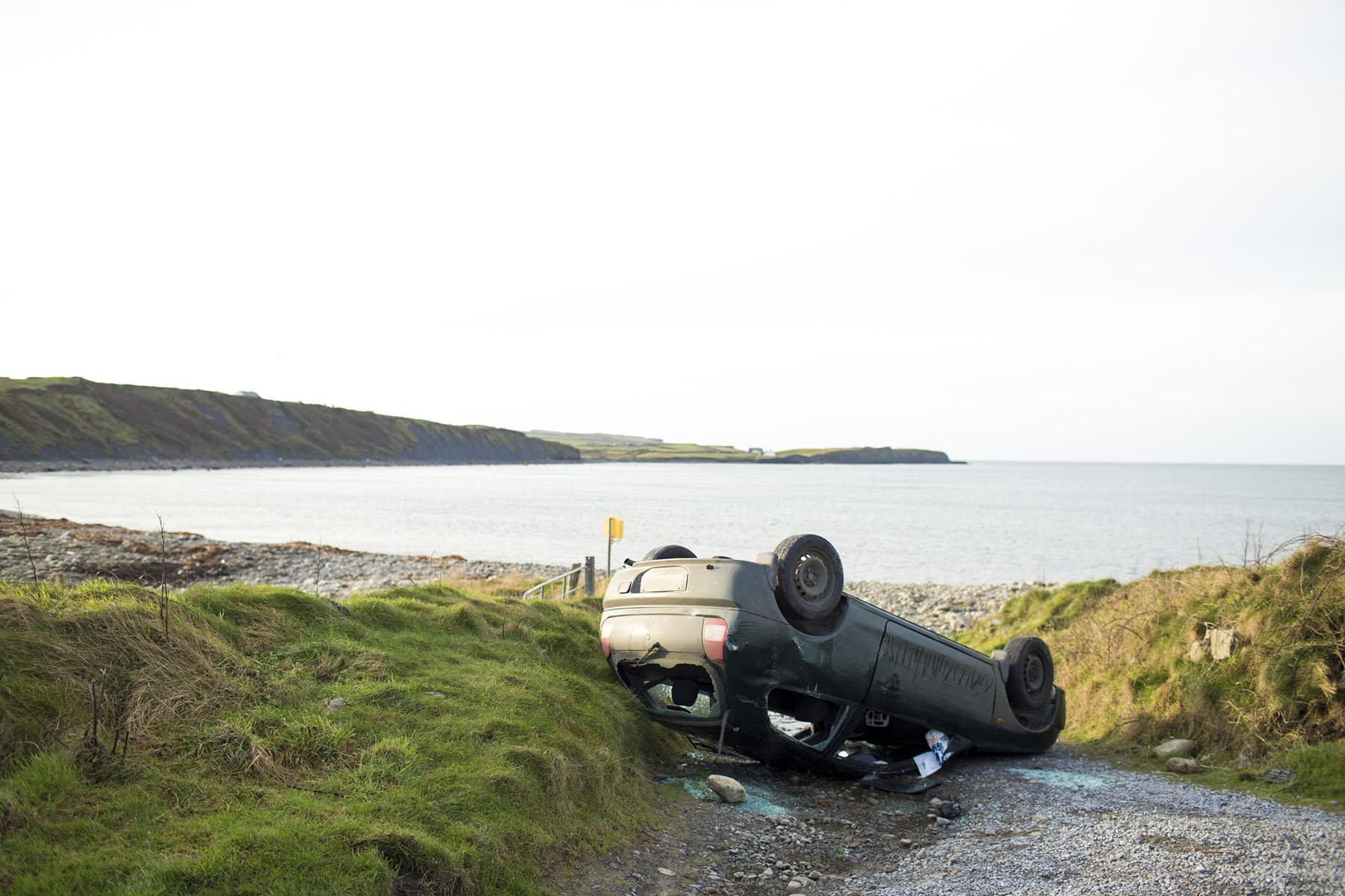 Road Traffic Accident (RTA) Investigation | Flipped car | Crash Detectives Ltd